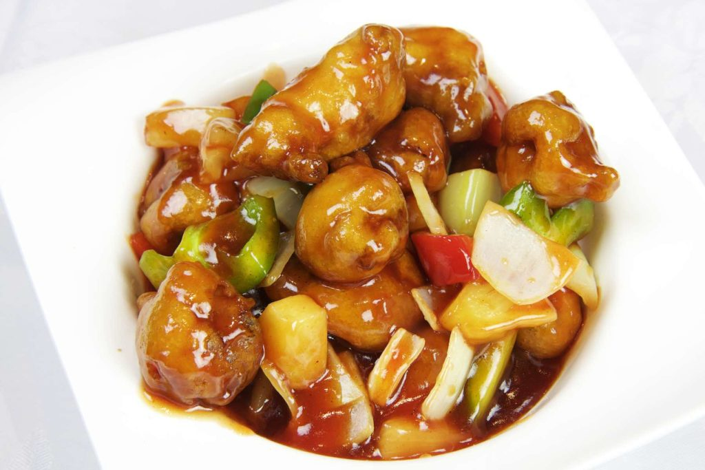 Chinese food - Sweet and Sour Pork